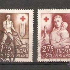 Sellos: FINLANDIA. 1941. YVERT Nº 225 A 228. Lote 133401370