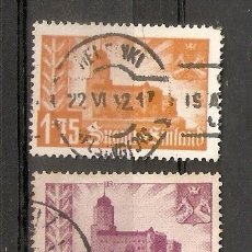 Sellos: FINLANDIA. 1941. YVERT Nº 231 A 233. Lote 133401426