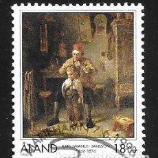 Sellos: FINLANDIA - ALAND. Lote 133902298