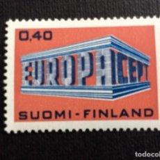 Sellos: FINLANDIA Nº YVERT 623*** AÑO 1969. EUROPA. Lote 134955706