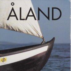 Sellos: CARPETA OFICIAL CON LOS SELLOS DEL AÑO COMPLETO 1995 DE ALAND (FINLANDIA). Lote 135449198