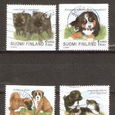 Sellos: FINLANDIA. 1998. PERROS. Lote 139635646