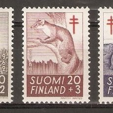 Sellos: FINLANDIA.1962. YT 527/529. Lote 139635750