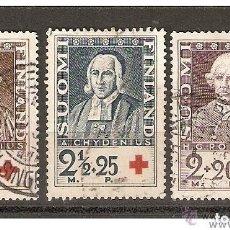 Sellos: FINLANDIA. 1935. YVERT Nº 180 A 182.. Lote 139635982