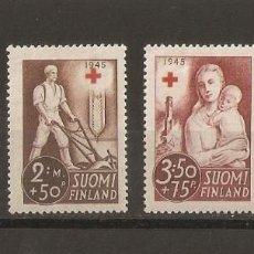 Sellos: FINLANDIA. 1941. YVERT Nº 225/228. Lote 139636026