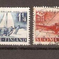 Sellos: FINLANDIA. 1938. YVERT Nº 205 A 208. Lote 139636218