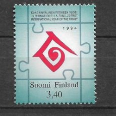 Sellos: FINLAND 1994 MNH INTL. YEAR OF THE FAMILY - 1/2. Lote 142958310