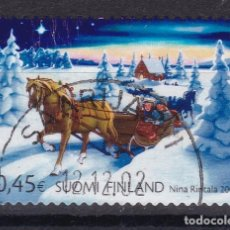 Sellos: FINLANDIA 2002 - SELLO USADO. Lote 143057406
