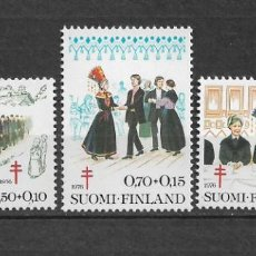 Sellos: FINLANDIA 1977 ** MNH - 1/53. Lote 143855414
