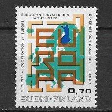 Sellos: FINLAND 1973 SC# 529 MNH - 1/54. Lote 143855830