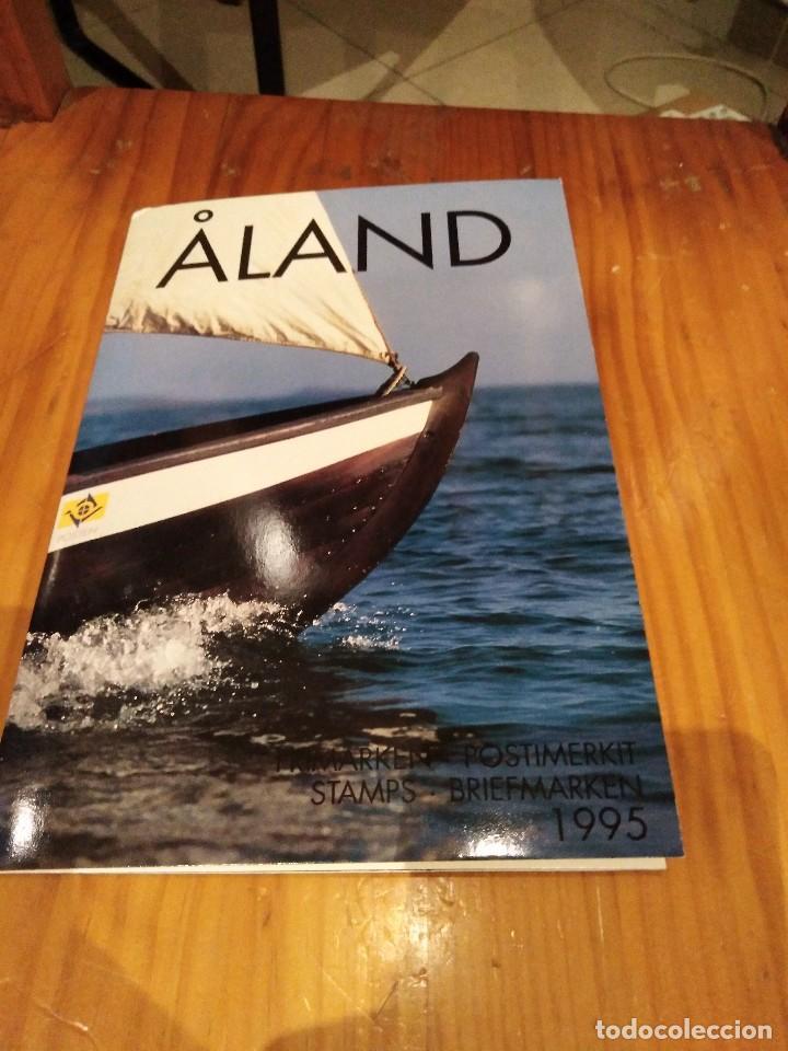 Sellos: Carpeta de las islas aland - Foto 3 - 144654358
