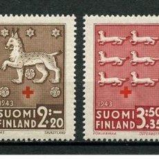 Sellos: SELLOS USADOS DE FINLANDIA, YT 261/ 64. Lote 146141042