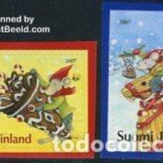 Sellos: SELLOS USADOS DE FINLANDIA, YT 1834/ 35. Lote 146776758
