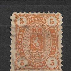 Sellos: FINLANDIA 1875 SC 18 USED - 3/15. Lote 148086362