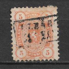 Sellos: FINLANDIA 1875 SC 18 USED - 3/15. Lote 148086558