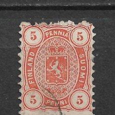 Sellos: FINLANDIA 1875 SC 18 USED - 3/15. Lote 148086650