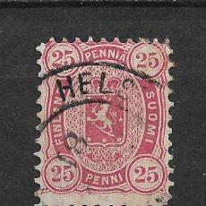 Sellos: FINLANDIA 1879 SC 22 USED - 3/15. Lote 148087502