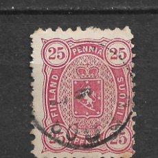 Sellos: FINLANDIA 1879 SC 22 USED - 3/15. Lote 148087950