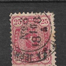 Sellos: FINLANDIA 1879 SC 22 USED - 3/15. Lote 148088450