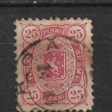 Sellos: FINLANDIA 1879 SC 22 USED - 3/15. Lote 148088522