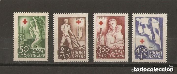 FINLANDIA. 1941. YVERT Nº 225/228 (Sellos - Extranjero - Europa - Finlandia)
