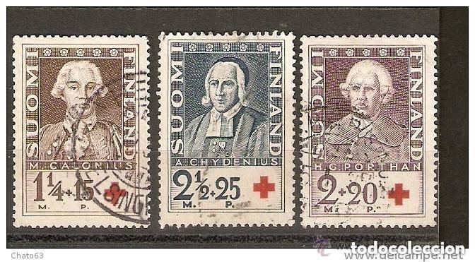 FINLANDIA. 1935. YT 180/182. (Sellos - Extranjero - Europa - Finlandia)