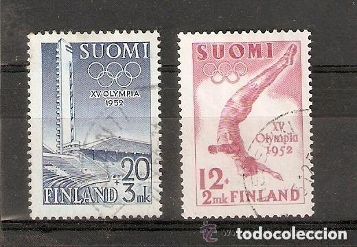 FINLANDIA. 1951 YT 382 ,383 (Sellos - Extranjero - Europa - Finlandia)