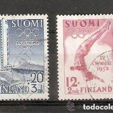 Sellos: FINLANDIA. 1951 YT 382 ,383. Lote 148905134