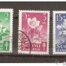 Sellos: FINLANDIA. 1950. YT 368/370. Lote 148905258