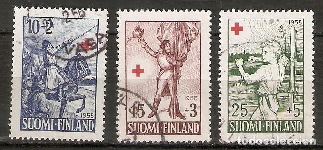 FINLANDIA. 1955. YT 430/432 (Sellos - Extranjero - Europa - Finlandia)