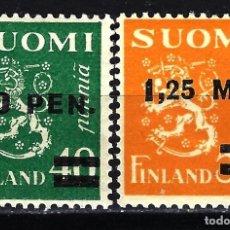 Sellos: 1931 FINLANDIA SUOMI YVERT YT 168/169 MICHEL MI 170/171 MNH** NUEVOS SIN CHARNELA. Lote 149820138