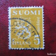 Sellos: FINLANDIA, 1945 YVERT 294. Lote 151588102