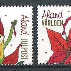 Sellos: ALAND 2009 - NAVIDAD - 2 SELLOS. Lote 152341354