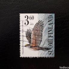 Sellos: FINLANDIA. YVERT 1537. SELLO SUELTO USADO. FAUNA. AVES.. Lote 152409978