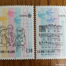 Sellos: FINLANDIA: YT. 932/33 MNH. EUROPA 1985 MNH. Lote 154298325