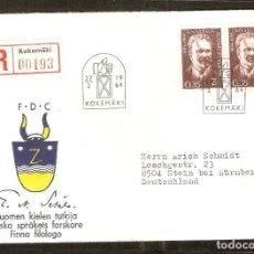 Sellos: FINLANDIA. 1964. FDC MI 586. Lote 155379022