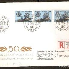 Sellos: FINLANDIA.1968. FDC MI 651. Lote 155383286