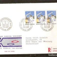 Sellos: FINLANDIA.1968. FDC MI 648. Lote 155383482