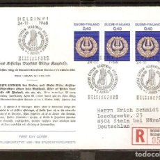 Sellos: FINLANDIA.1968. FDC MI 653. Lote 155383898