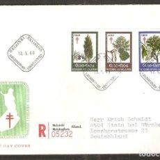 Sellos: FINLANDIA.1969. FDC MI 657/9. Lote 155384378