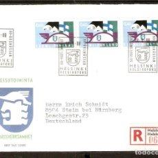 Sellos: FINLANDIA.1969. FDC MI 662. Lote 155384598