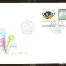Sellos: FINLANDIA.1991. FDC . Lote 155385106