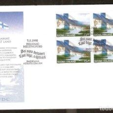 Sellos: FINLANDIA.1998. FDC. Lote 155385766