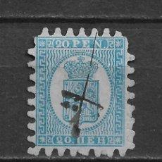 Sellos: FINLANDIA 1866 SC 9 A3 20P BL, BL, III 52.50 - 3/9. Lote 155824006