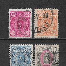 Sellos: FINLANDIA 1885 USADO SC 32/35 - 3/9. Lote 155827550