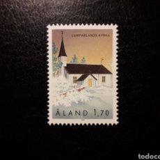 Sellos: ALAND (FINLANDIA) YVERT 43 SERIE COMPLETA NUEVA SIN CHARNELA. IGLESIAS DE ALAND.. Lote 156285814