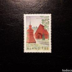 Sellos: ALAND (FINLANDIA) YVERT 78 SERIE COMPLETA NUEVA SIN CHARNELA. IGLESIAS DE ALAND.. Lote 156289550