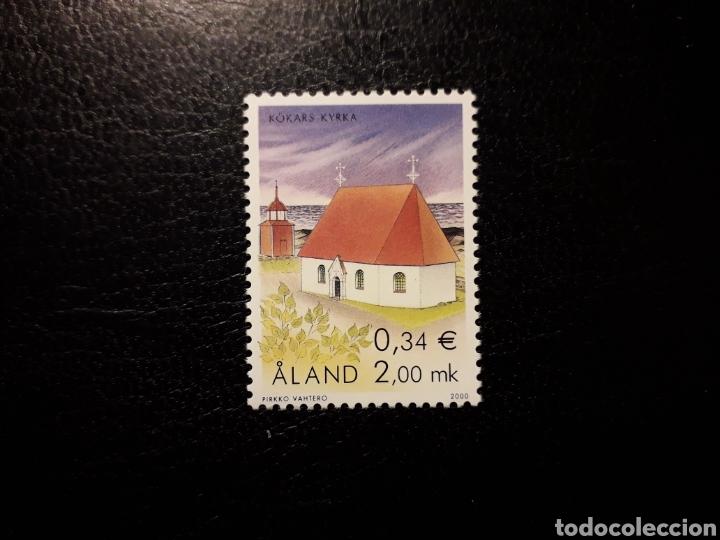 ALAND (FINLANDIA) YVERT 182 SERIE COMPLETA NUEVA SIN CHARNELA. IGLESIAS DE ALAND. (Sellos - Extranjero - Europa - Finlandia)