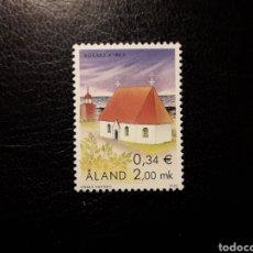 Sellos: ALAND (FINLANDIA) YVERT 182 SERIE COMPLETA NUEVA SIN CHARNELA. IGLESIAS DE ALAND.. Lote 156294070