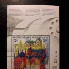Sellos: FINLANDIA. YVERT HB-26 SERIE COMPLETA NUEVA SIN CHARNELA. INDUSTRIA PAPELERA. Lote 156675550